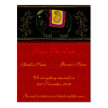 My Indian Elephant - Indian Red Postcards