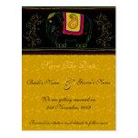 My Indian Elephant - Topaz - Customized Postcards
