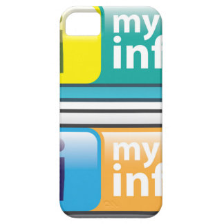 My Info Button Vector iPhone SE/5/5s Case