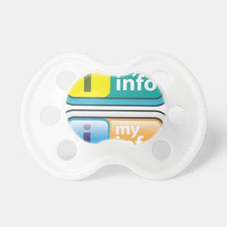 My Info Button Vector Pacifier