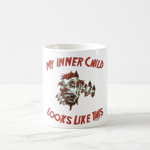 My Inner Child Classic White Coffee Mug