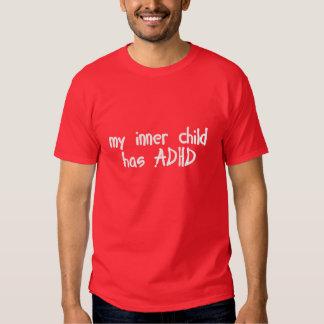 My Inner Child has ADHD T-Shirt