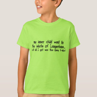My Inner Child Went to the Islets of Langerhans T-Shirt