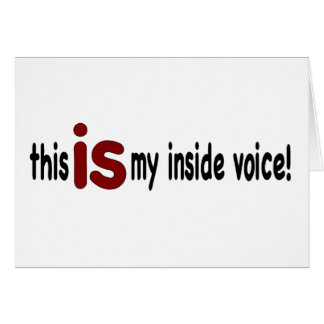 My Inside Voice Card