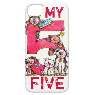 MY iPhone FIVE Phone Case - Best Friends Forever!