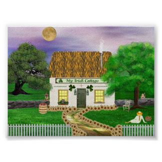 My Irish Cottage Poster