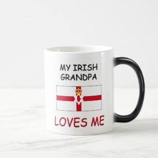 My Irish Grandpa Loves Me 11 Oz Magic Heat Color-Changing Coffee Mug