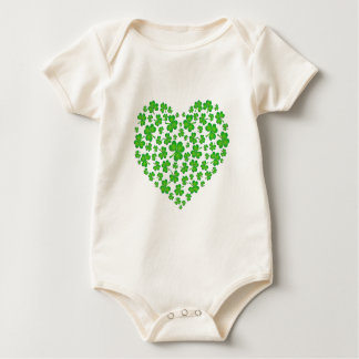 My Irish Heart Baby Bodysuit