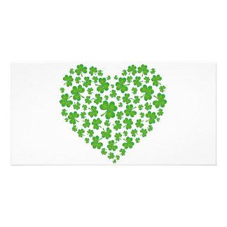 My Irish Heart Photo Card Template
