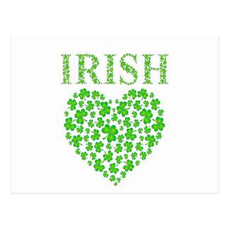 My Irish Heart Postcard