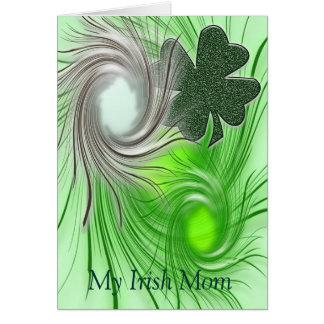 My Irish Mom Card