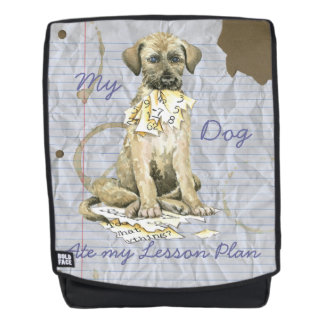 My Irish Wolfhound Ate my Lesson Plan Backpack