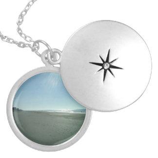 My Island Round Locket Necklace