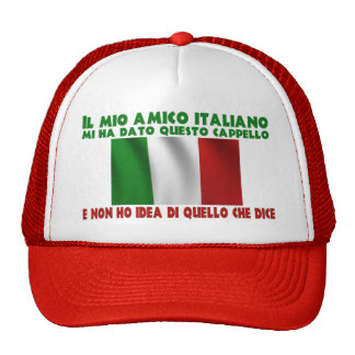 My Italian Friend Gave Me This Hat...