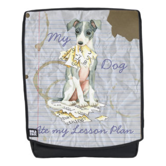 My Italian Greyhound Ate My Lesson Plan Backpack