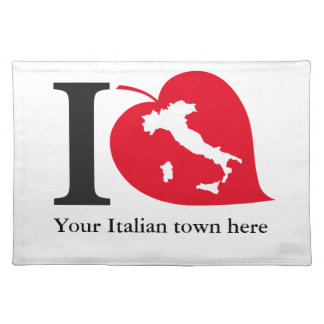 My Italian placemat