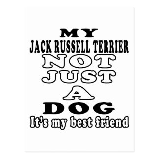 My Jack Russell Terrier Not Just A Dog Postcard