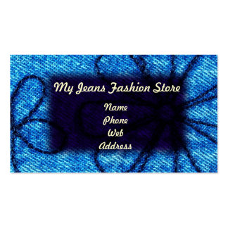 My Jeans Fashion Store Double-Sided Standard Business Cards (Pack Of 100)