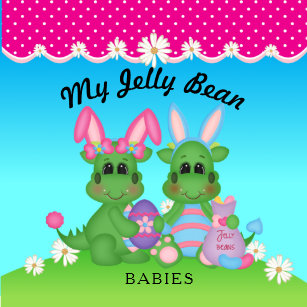 My Jelly Bean Babies Dragon Easter Bunnies On