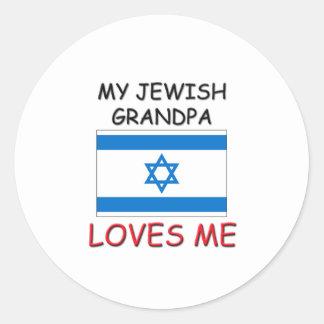 My Jewish Grandpa Loves Me Sticker