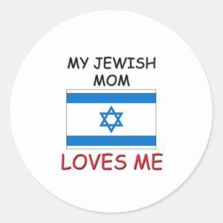 My Jewish Mom Loves Me Sticker
