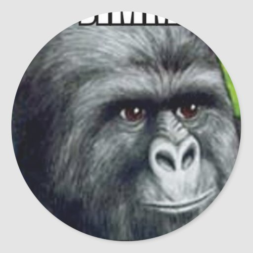My Jimmies Remain Unrustled Classic Round Sticker