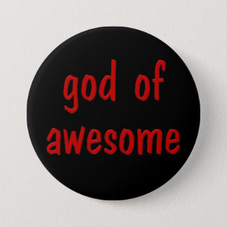My job is being awesome (male 1) pinback button