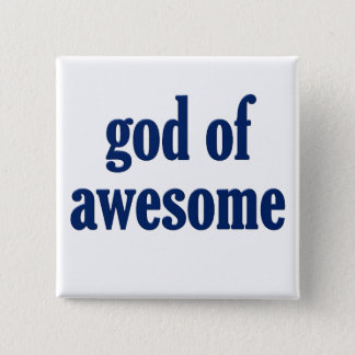 My job is being awesome (male 2) pinback button