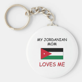 My Jordanian Mom Loves Me Keychains