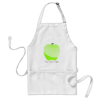My Juicy Green Apple Chef Apron