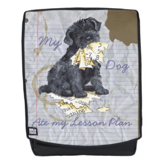 My Kerry Ate My Lesson Plan Backpack