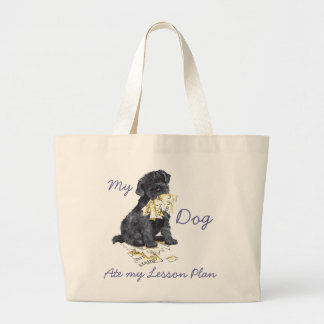 My Kerry Ate My Lesson Plan Large Tote Bag