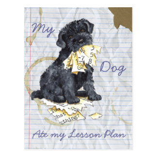 My Kerry Ate My Lesson Plan Postcard