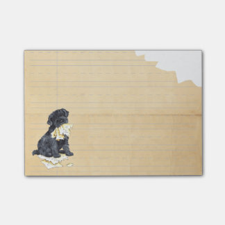 My Kerry Blue Terrier Ate my Homework Post-it® Notes