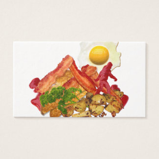 My Ketchup Gone Squatchin for Bacon Business Card