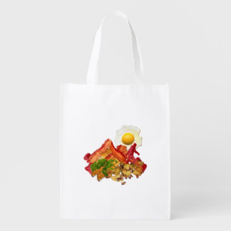 My Ketchup Gone Squatchin for Bacon Decor Grocery Bag