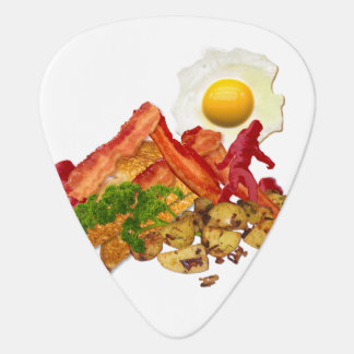 My Ketchup Gone Squatchin for Bacon Guitar Pick