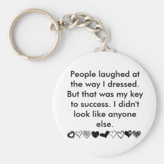 My key to success...... key chain