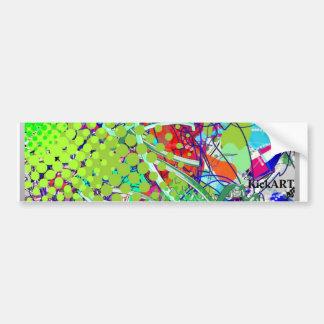my_kickart3, KickART Car Bumper Sticker