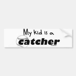 My Kid is a Catcher Bumper Sticker