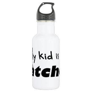 My Kid is a Catcher 18oz Water Bottle