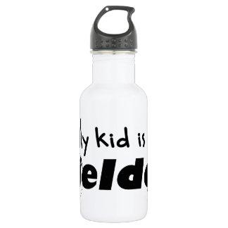 My Kid is a Fielder 18oz Water Bottle