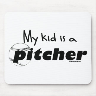 My Kid is a Pitcher Mouse Pad