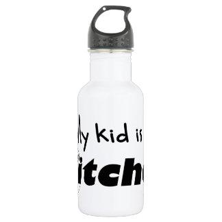 My Kid is a Pitcher 18oz Water Bottle