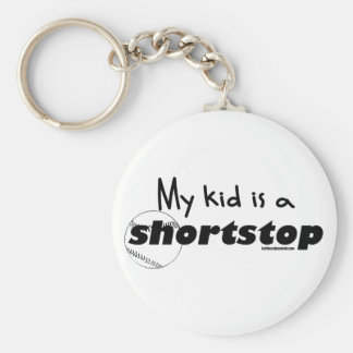 My Kid is a Shortstop Keychain