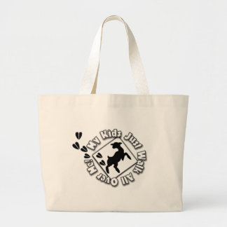 My Kid Just Walk All Over Me (Goat Kids) Bag