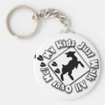 My Kid Just Walk All Over Me (Goat Kids) Key Chains