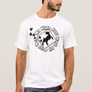 My Kid Just Walk All Over Me (Goat Kids) T-Shirt
