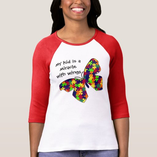 My Kid With Autism Tee Shirts