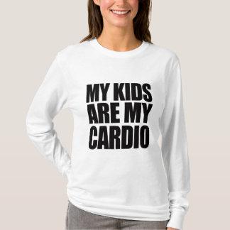 My Kids Are My Cardio Women's Long Sleeve Shirt